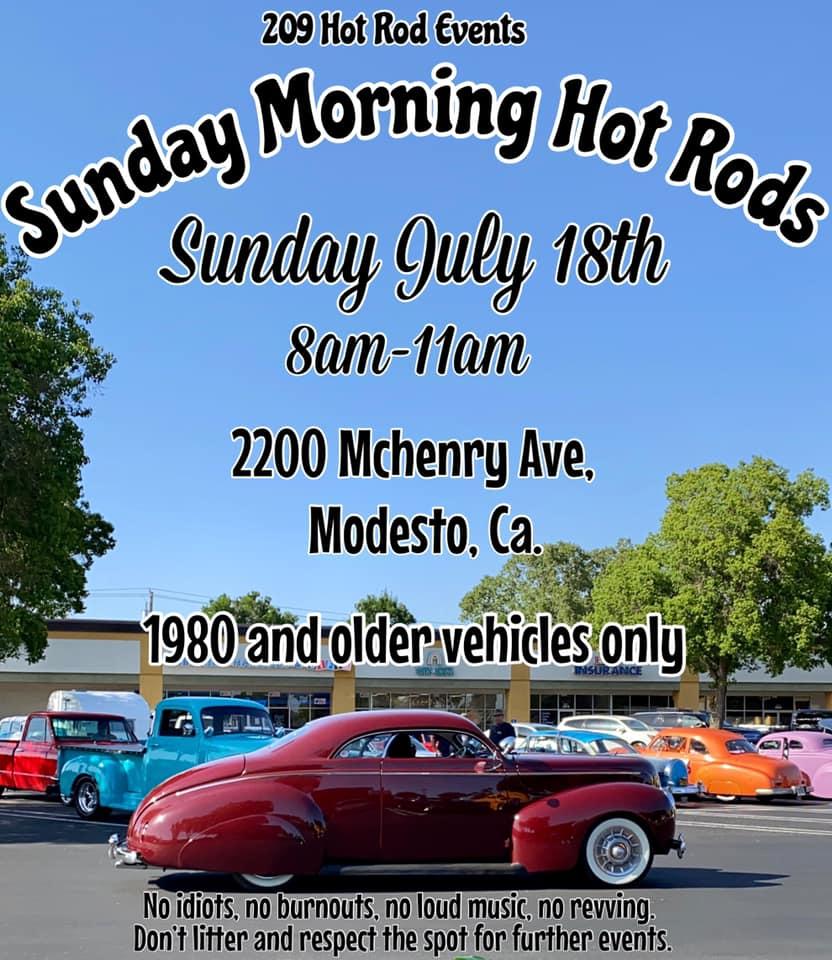 Sunday Morning Hot Rods