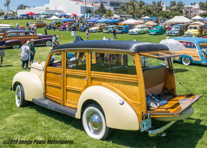 21st Annual Woodies at the Beach