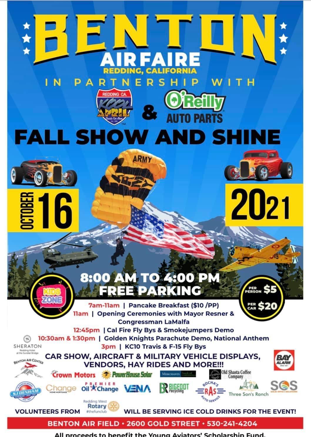 Benton Air Faire Car Show