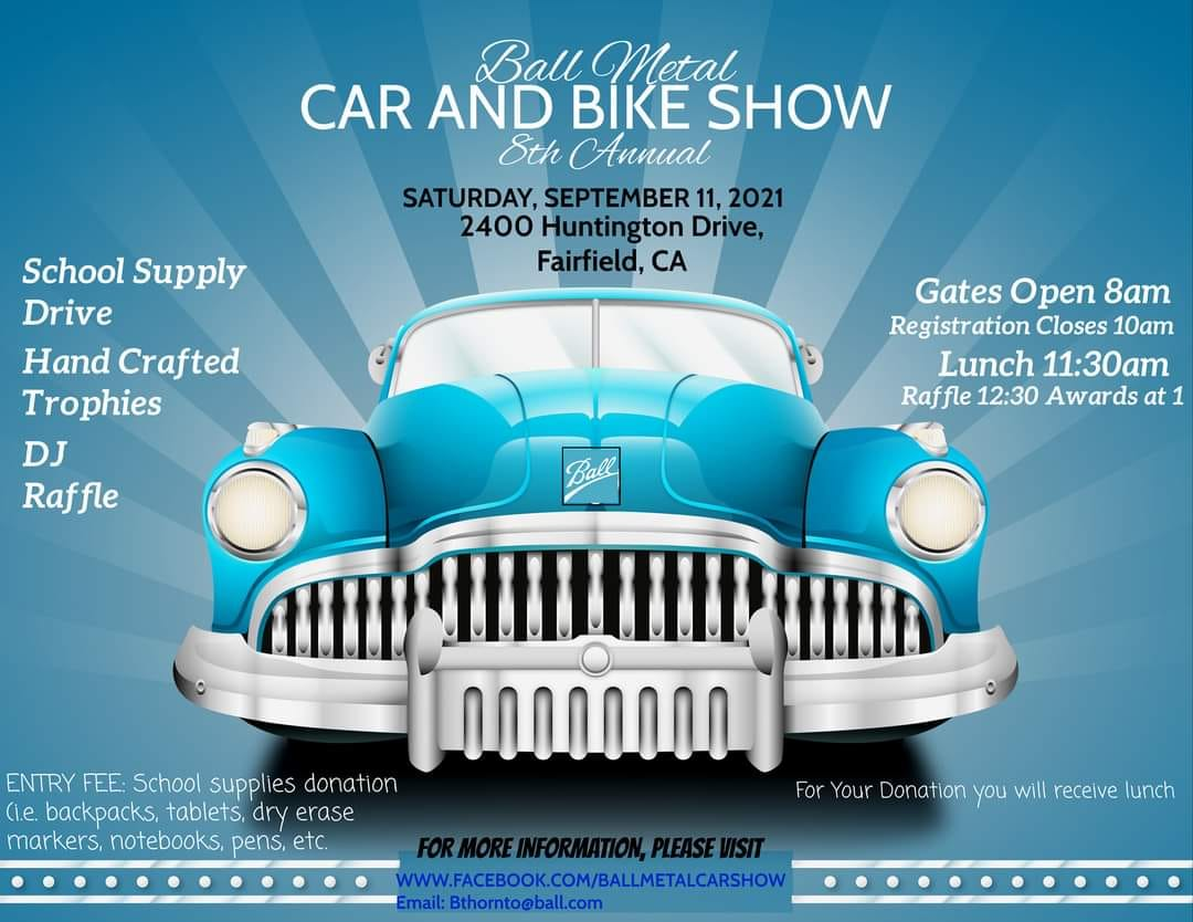 Ball Metal Car and Bike Show