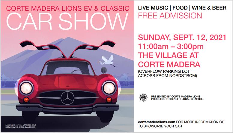 Corte Madera Lions EV and Classic Car Show