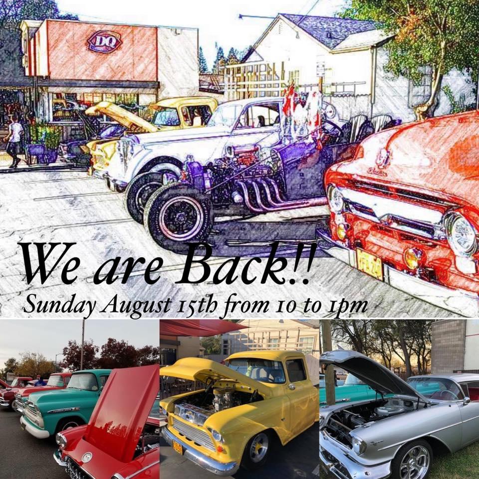 Vintage Cruisers DQ Car Show