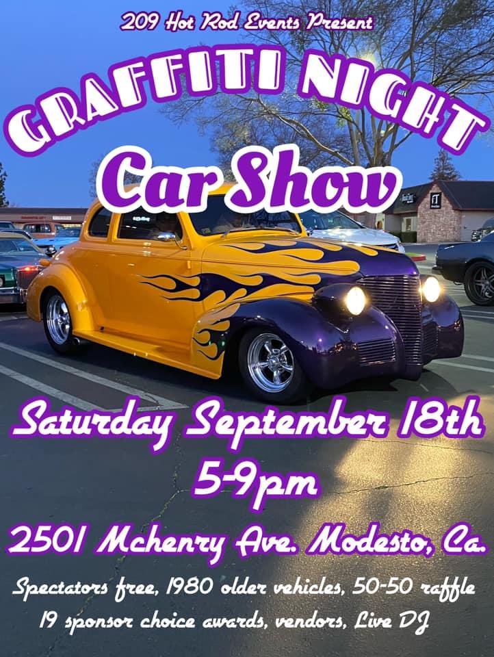 2021 Graffiti Night Car Show