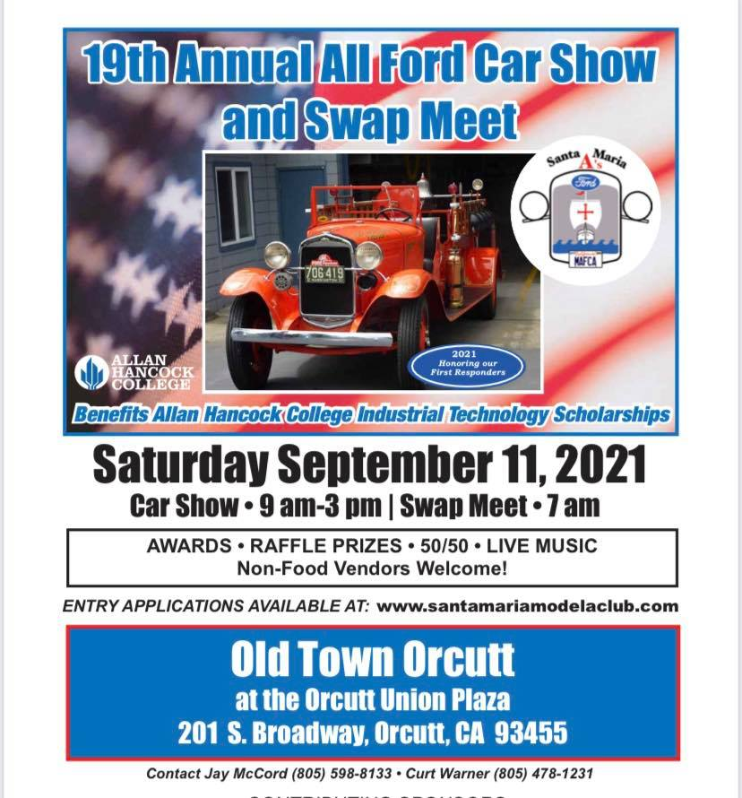 All Ford Car Show and Swap Meet