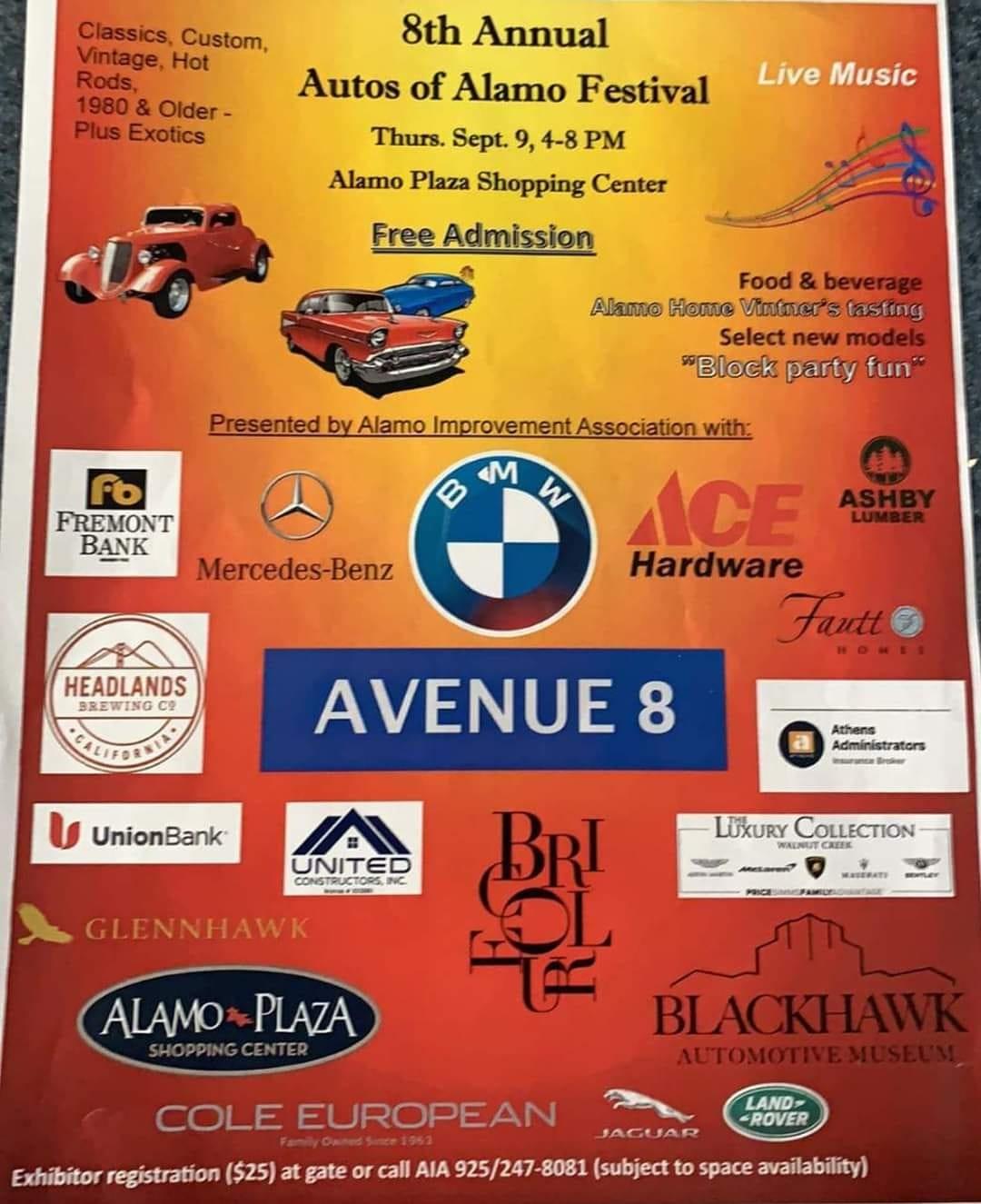 Autos of Alamo Festival