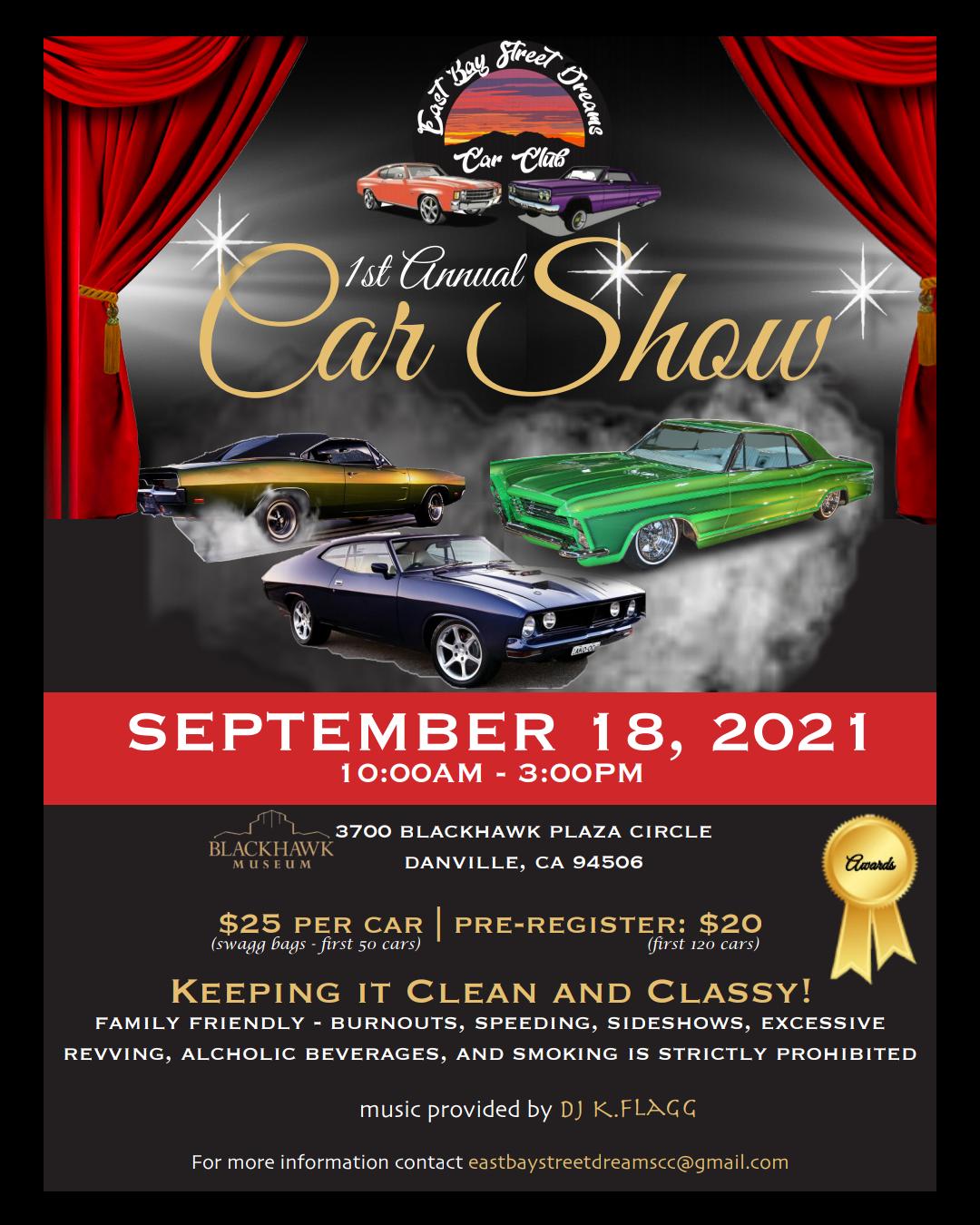East Bay Street Dreams Car Show