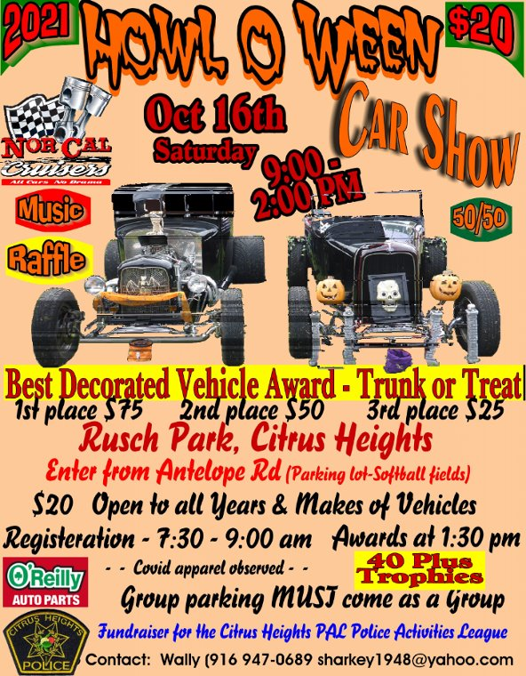 Howl O Ween Car Show