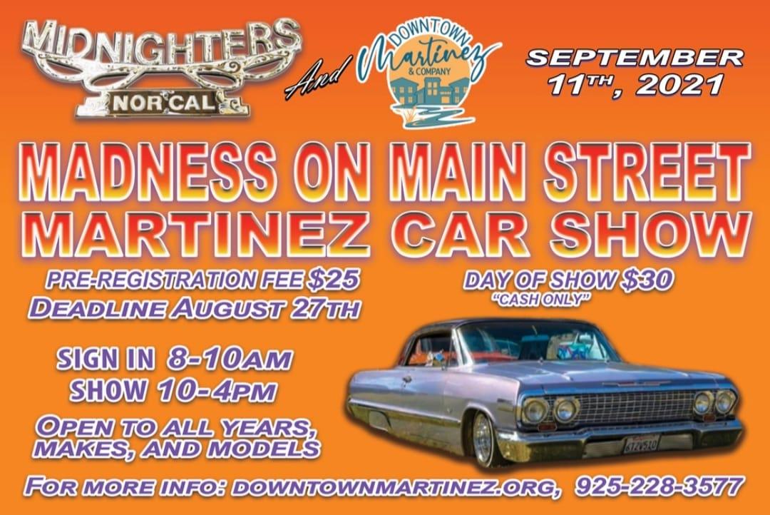 Madness on Main Street Car Show