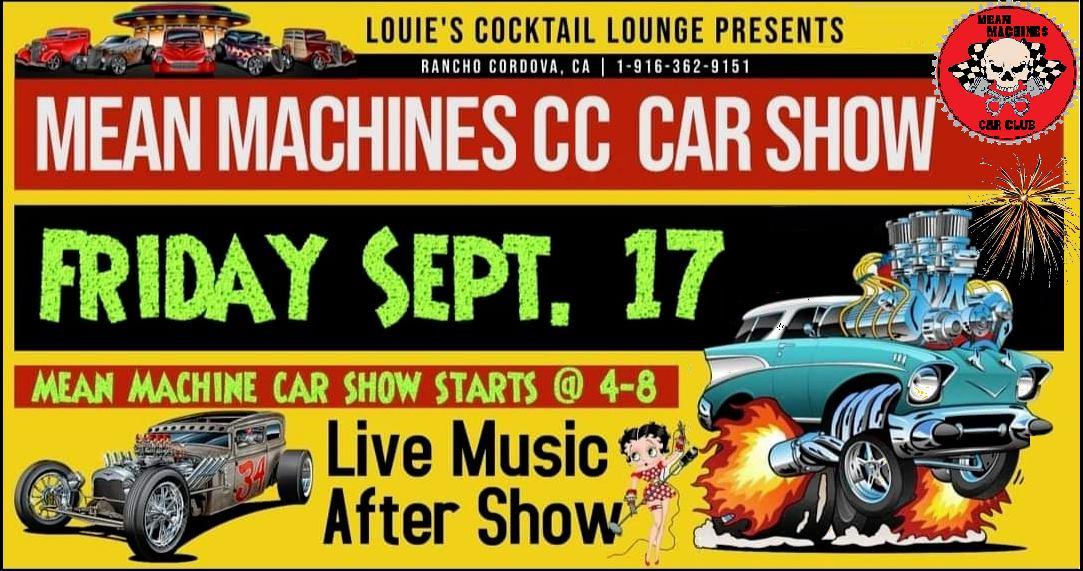 Mean Machines Car Show