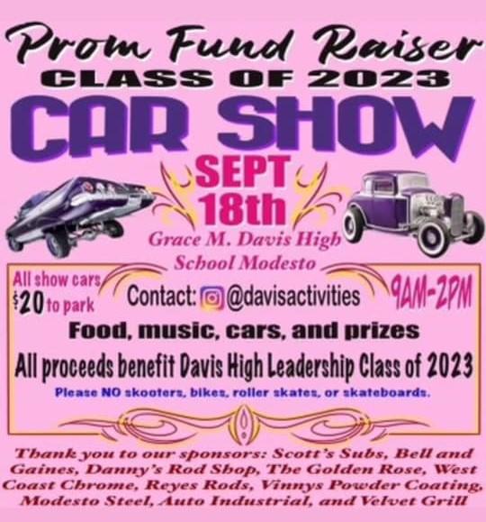 Prom Fundraiser Car Show
