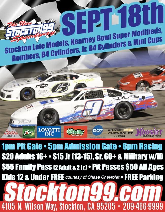 Stockton Weekly Racing Series