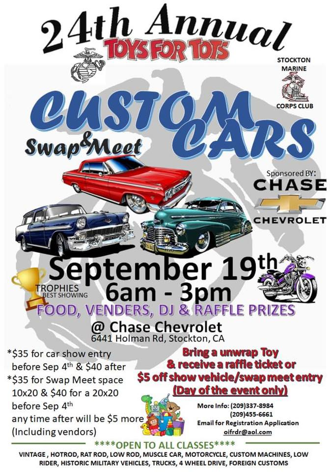 Toys For Tots Custom Cars & Swap Meet