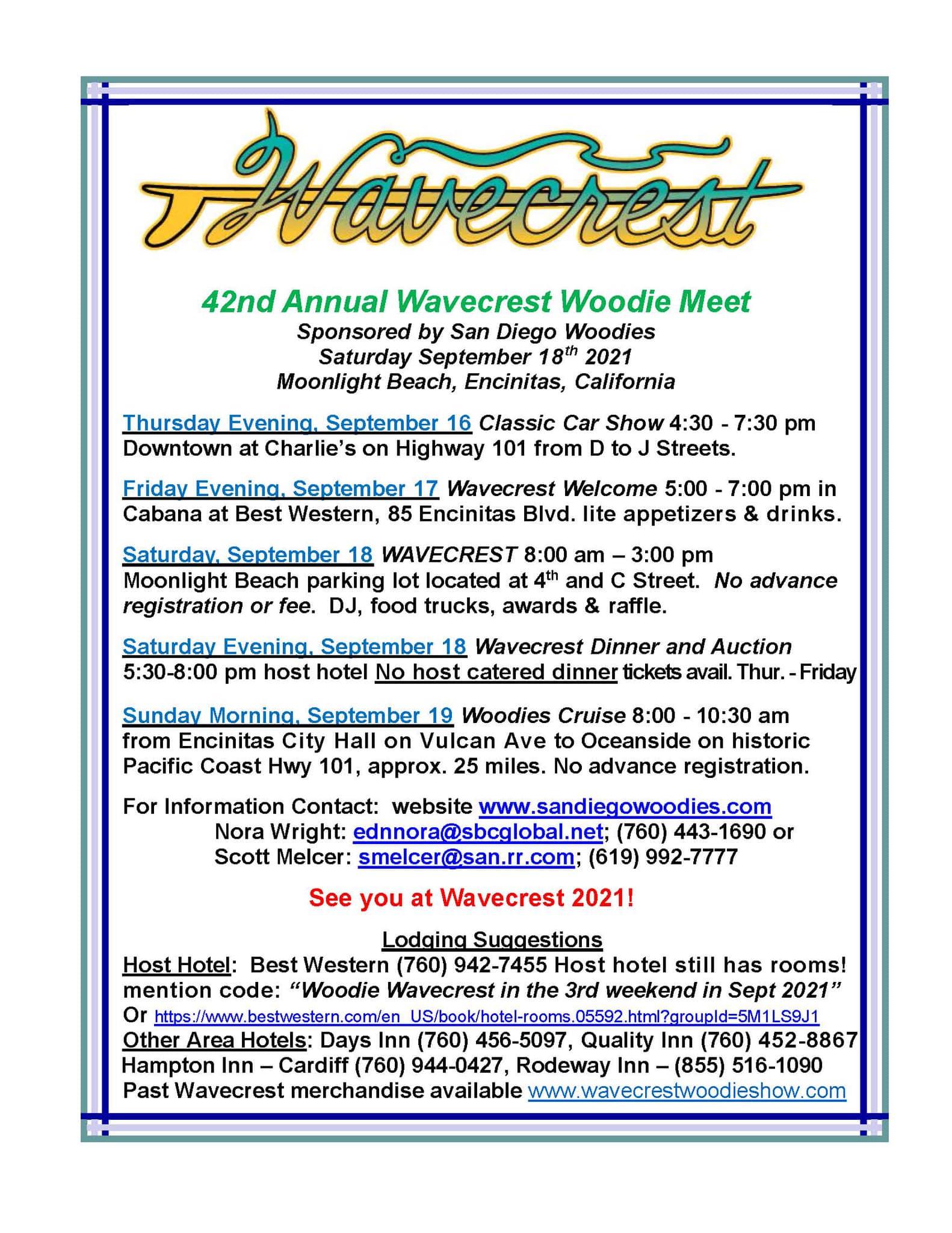 Wavecrest Woodie Meet